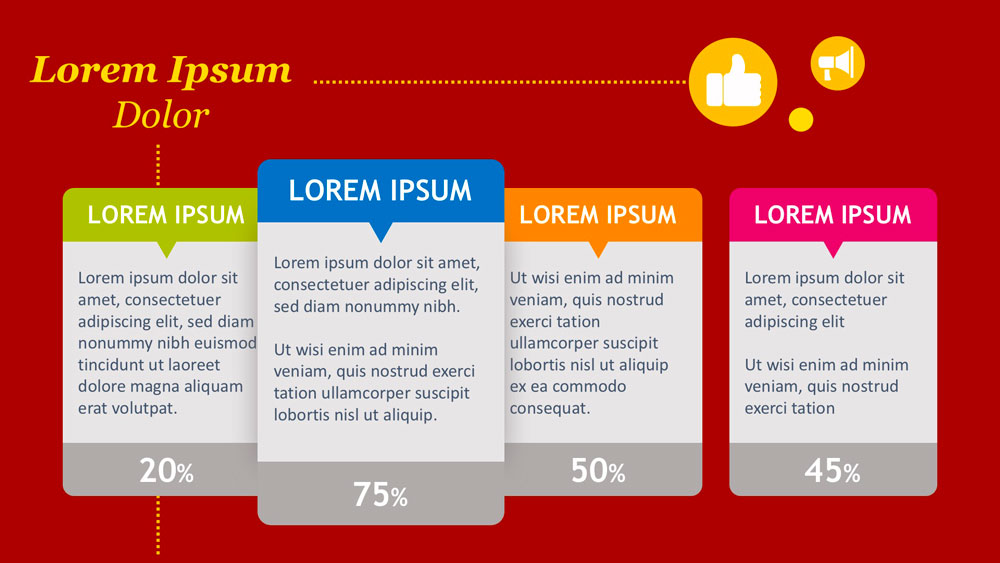 Exemple de réalisation de slide Powerpoint